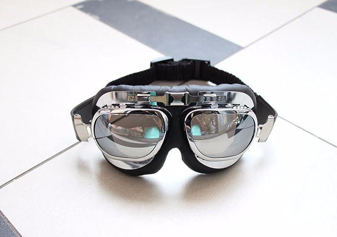 KHSKX Lunettes moto chevaliers frame lunettes équitation vent lunettes de sport lunettes miroirs glassesB v90Aac8zR