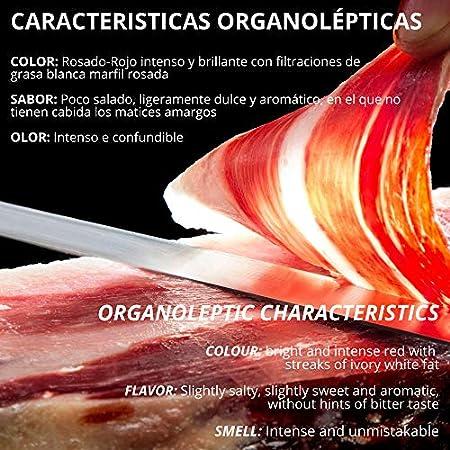 Olalla Paleta de Jamon de Bellota Reserva Pata Negra - 5 Sobres Loncheados de 100 gr, Totaal: 500 gr