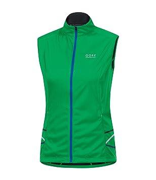 Gore Mythos 2.0 Windstopper Light Damen Running Weste grün Grün (Fresh  Green) 16
