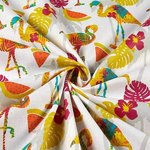 3.7 Flowers and Symmetric Leaves Coconut Multicolor Ambesonne Necktie