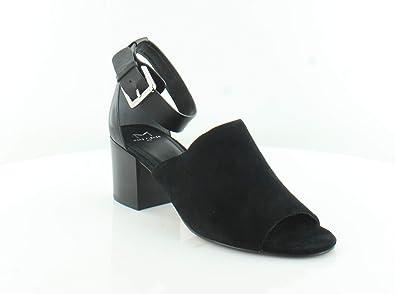 84d37025c8d Marc Fisher LTD Women s Robe 2 Black Black Sport Tamarin New Stetson Sandal