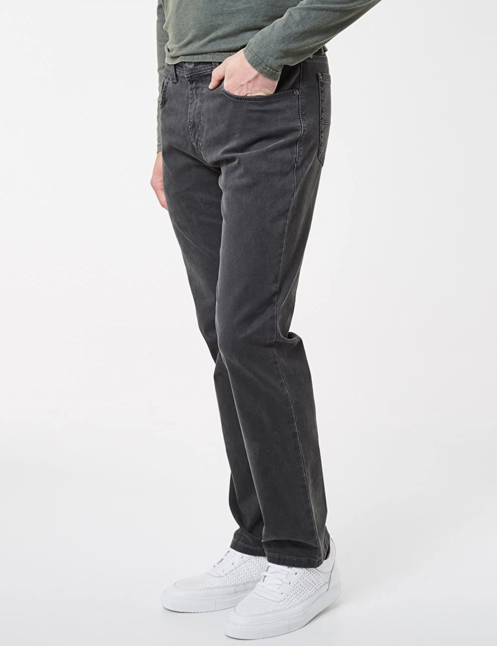 Pioneer Men's Rando Megaflex Trouser Grey (Steel 37)