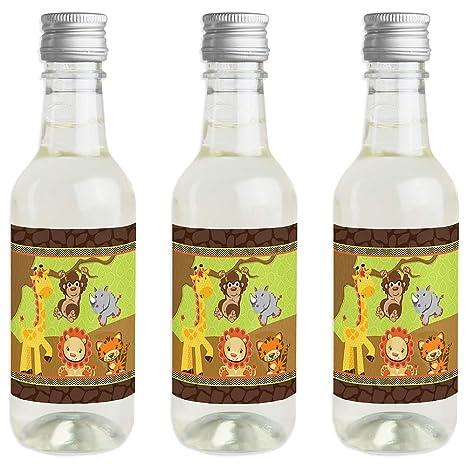 Funfari - Divertido Safari Jungle - Pegatinas para botella ...