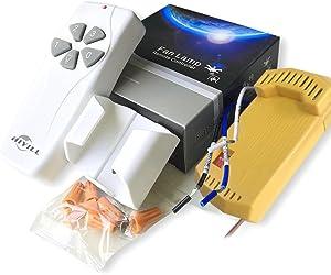 Harbor Breeze 43147 Ceiling Fan & Light Remote Control Kit NEW Universal