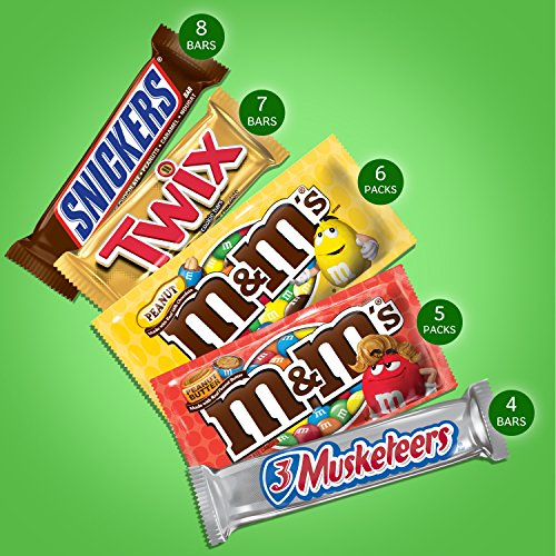 MARS Chocolate Full Size Candy Bars Variety Pack 53.68 Ounces (30-Count Box)