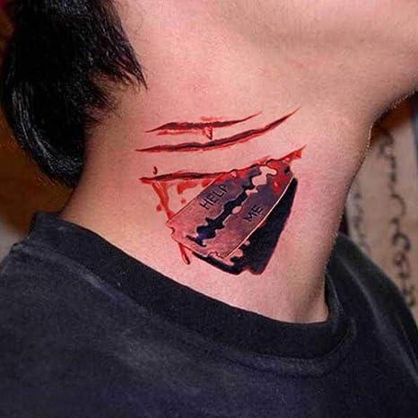 AAERP Suicide Squad Tatuajes temporales, Joker Tatuaje de bola de ...
