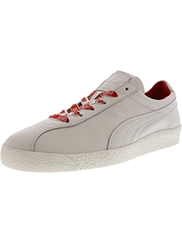 05b056e2a66d11 Puma Men s Te-Ku Russia Fm White Flame Scarlet Ankle-High Leather Fashion