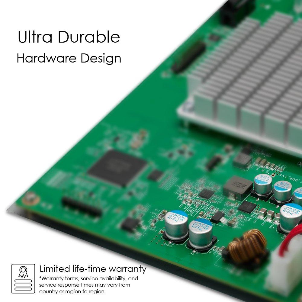 ZyXEL 8-Port Gigabit Unmanged PoE+ Switch, 4 Ports mit PoE 75 Watt max.- Design ohne Lüfter fanless [GS1100-8HP] by ZyXEL (Image #4)