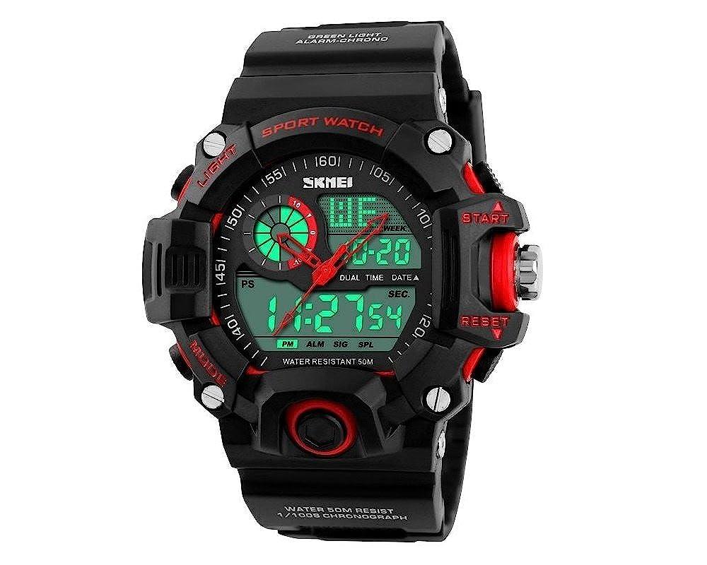 Amazon.com: Relojes de Hombre De Moda 2018 Reloj Sport LED ...