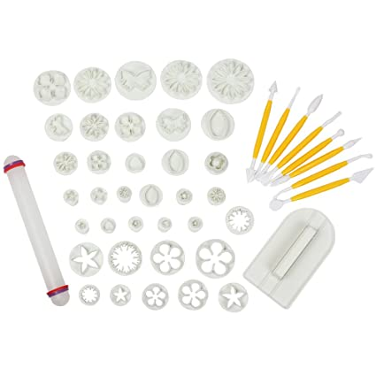 Other Baking Accessories Baking Accs. & Cake Decorating Lovely Fox Run 34 Piece Mini Alphabet And Number Cookie/fondant Cutter Set Durable Modeling