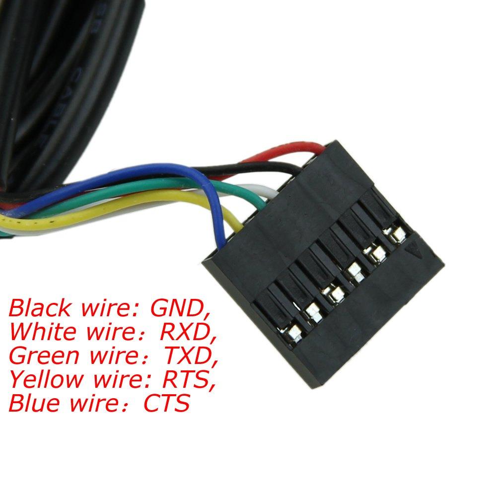 Ftdi Ttl 232r 3v3 Usb To Serial Converter Cable 33 Schematic 33v 6pin Computers Accessories