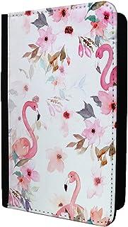 Flamingos Oiseaux Coque passeport Motif–S799