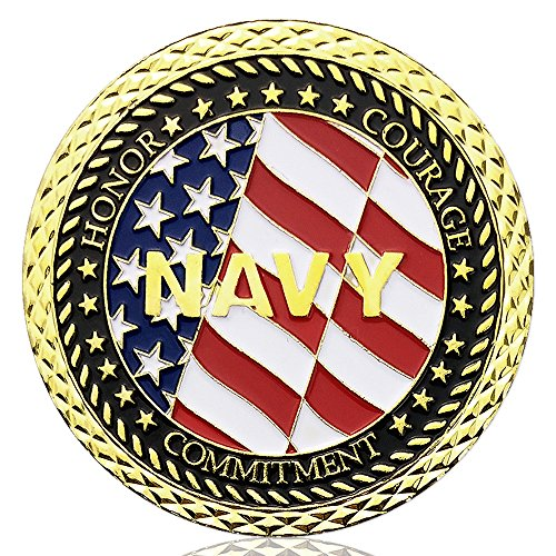 Navy Veteran Challenge Coin United States Department of the Defense Army Military Coin