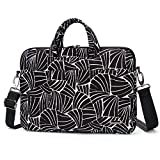 hp fans - Aestee 14-15 Canvas Fabric Laptop Shoulder Messenger Bag Carrying Case Handbag Sleeve Briefcase For 15.6 Inch MacBook Pro,Acer,Dell,Hp,Samsung,Lenovo Computer 2017,Abstract Fan