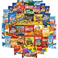 Cookies, Chips & Candies Care Package Variety Pack Bundle Sampler (50 Count) from Snack Chest