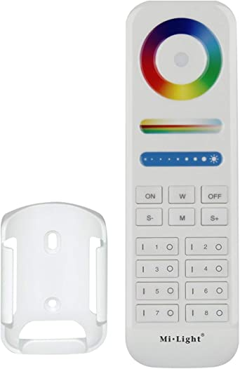 CCT 8-Zone RGB- LED Remote Controller 2.4G Wireless FUT089 For LED Bulb /& strip