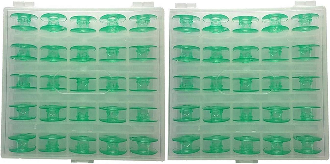 Hemline Plastic Bobbins Husqvarna//Viking Pack Of 3