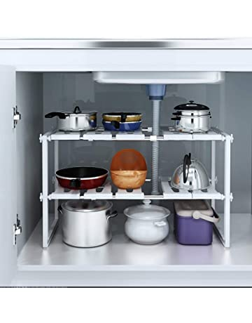 Groovy Under Sink Storage Home Kitchen Amazon Co Uk Home Interior And Landscaping Eliaenasavecom