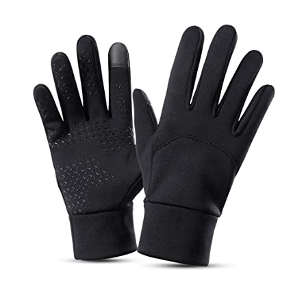 Motorcycle Bike Riding Full Finger Warm Insulation Knit Thicken Winter Gloves