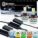 Stark 90W 9000LM LED Headlight Conversion Kit - Cool White 6000K 6K - Dual Hi / Lo Beam - H13 / 9008