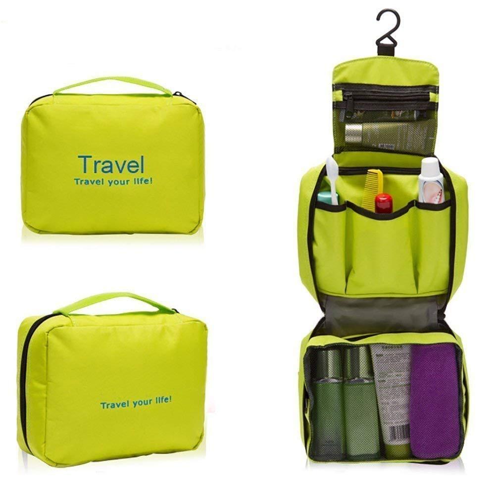 Travel Toiletry Bag Organizer Toiletry Bag For Men/Women Travel (Green)