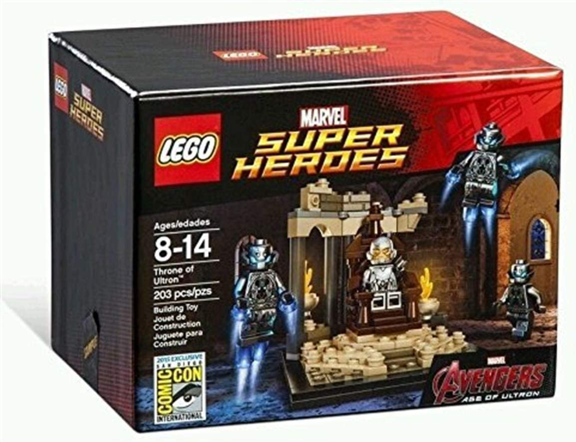Lego Sdcc 2015 Exclusive Lego Throne Of Ultron Marvel Avengers Super Heroes Limitierte Edition Amazon Co Uk Toys Games