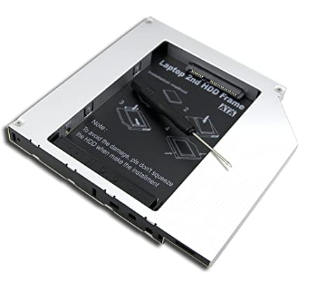 Producto nuevo 2 nd disco duro SSD Caddy para HP Compaq 8510p 8510 ...