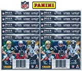 2017 Panini NFL Football Stickers 10 Packs of 7 Stickers each