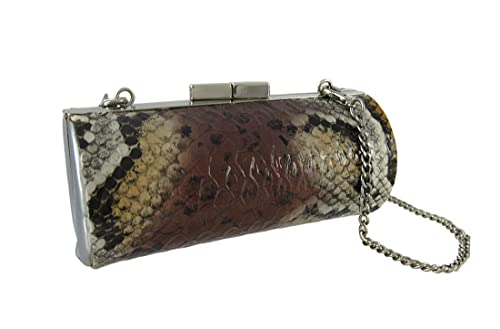749152e140a Snakeskin Textured Vinyl Barrel Mini Purse: Handbags: Amazon.com