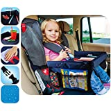 Baby Car Lap Tray Waterproof Safety Seat Snack and Play Portable Table Kid Travel