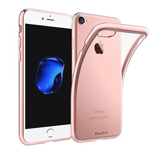 19 opinioni per iPhone 7 / 7S Custodia, Easyacc Shock-Absorption Bumper Cover e Anti-Graffio