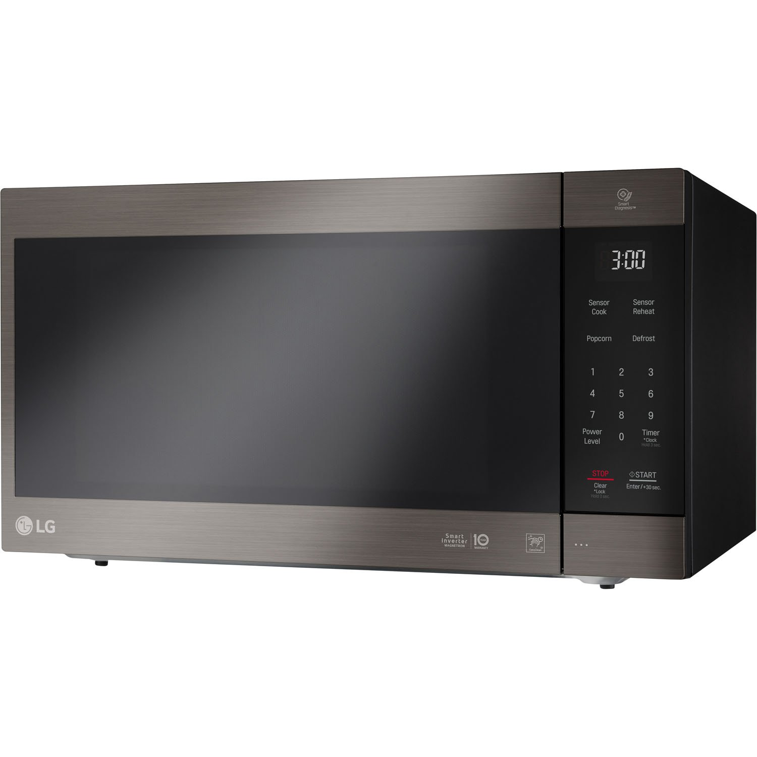 LG 2.0 Cu. Ft. NeoChef Countertop Microwave in Black Stainless Steel - LMC2075BD