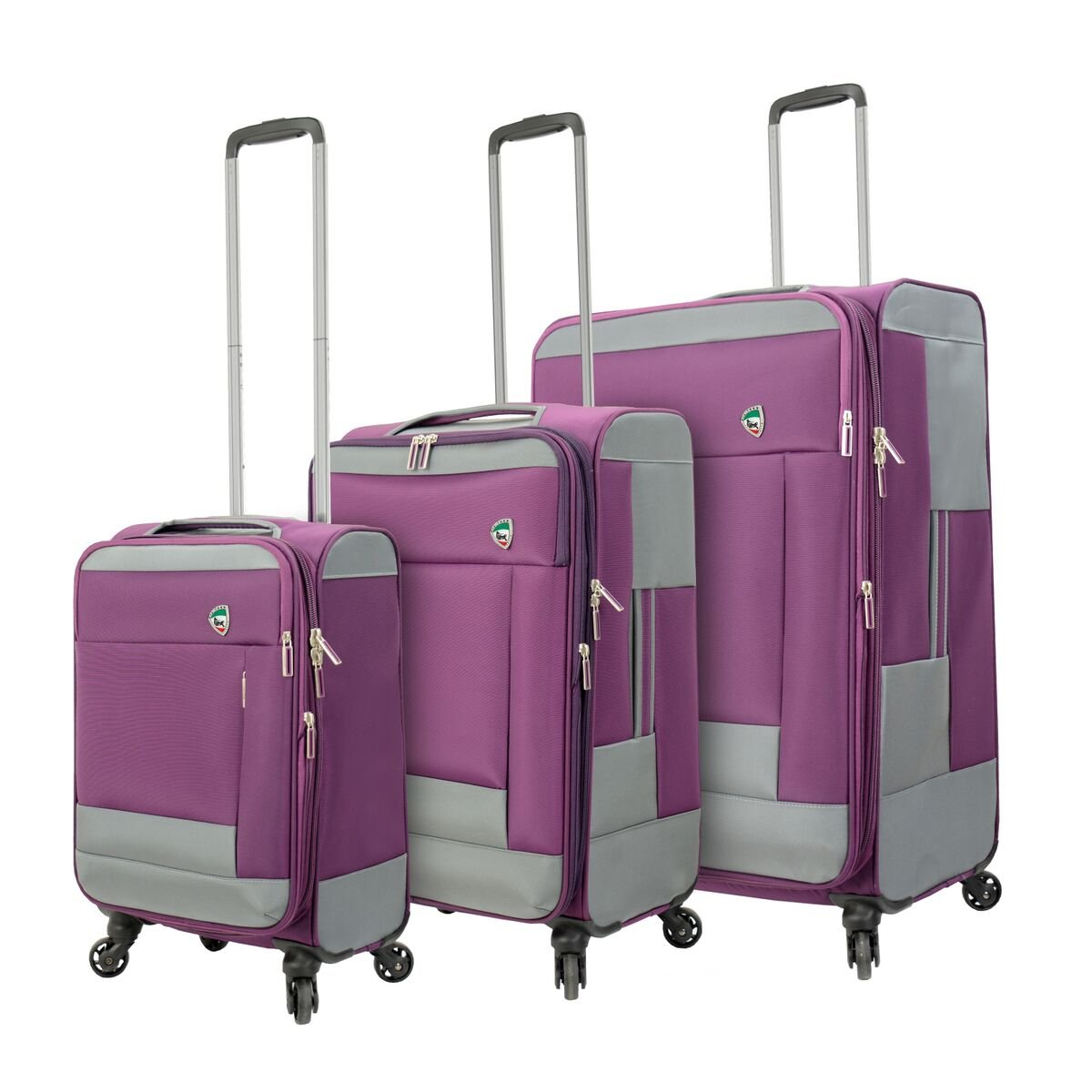Mia Toro 機内持ち込み手荷物, ピンク, One Size B077FYMFC6 ピンク