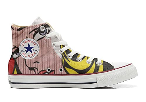 Converse Original CUSTOMIZED with printed Italian style (handmade shoes) Pretty girls