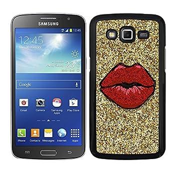 Funda carcasa para Samsung Galaxy Grand 2 diseño labios ...