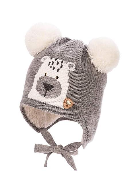 Baby Boy – Berretto a maglia cappello invernale autunno ragazzo taglia 6 9  12 18 24 0bfe9db6f798