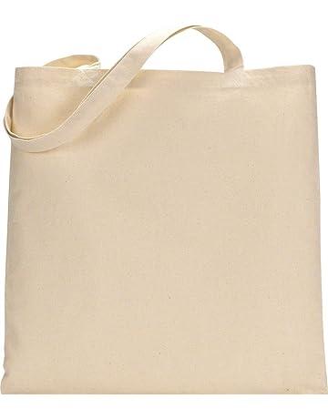 Paquete de 10 bolsas de la compra de algodón premium – respetuoso con el medio ambiente