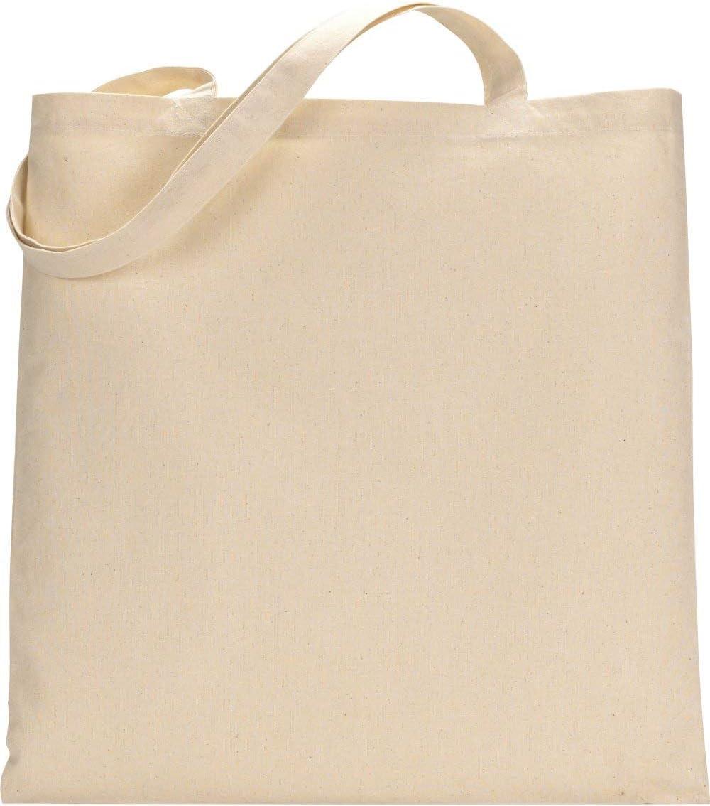 Paquete de 10 bolsas de la compra de algodón premium – respetuoso ...