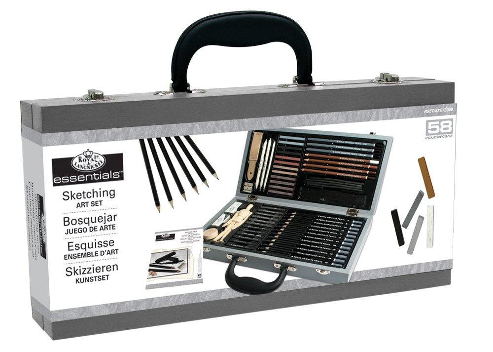Royal & Langnickel RSET-WAT2000 - Juego de acuarelas en caja de madera reikos_0019522742AM_0010554