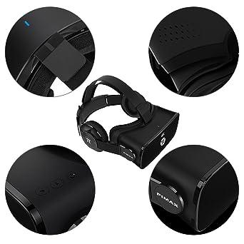 PIMAX 4K cuffia virtuale auricolare VR cuffie 3D occhiali per videogiochi  per PC Giochi  Windows  Amazon.it  Videogiochi 983a2adbc11a
