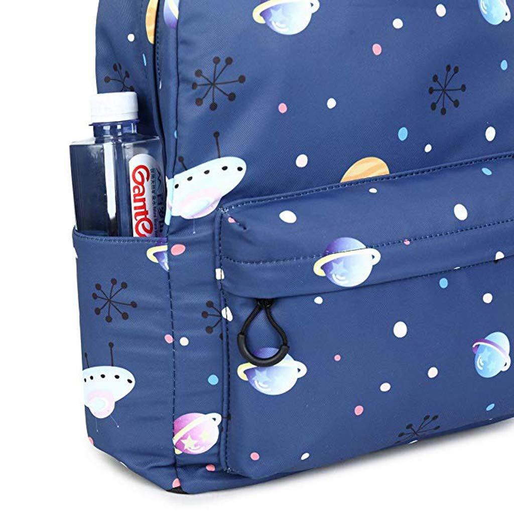 Rucksack - große Kapazität Wasserdichte High High High School Student Rucksack, Student Tasche geheimnisvolle Star Print Rucksack Freizeit Reisetasche (42,5 x 30,5 x 13,5 cm) cd817c
