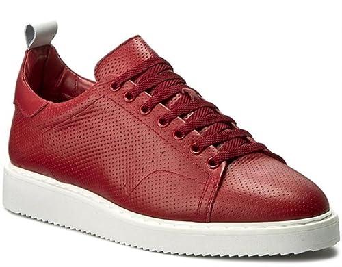 it Rotrot42Amazon Antony Morato Uomo Rosso Sneaker ym8vn0ONw