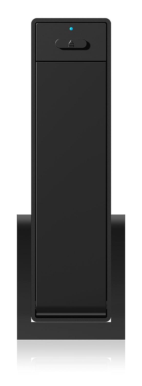 ICY BOX IB-366StU3+B Bo/îtier Externe pour Disque Dur 3,5 SATA Support UASP DD//SSD SATA III USB 3.0 Noir