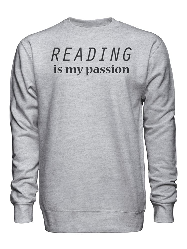 graphke Reading is My Passion Unisex Crew Neck Sweatshirt