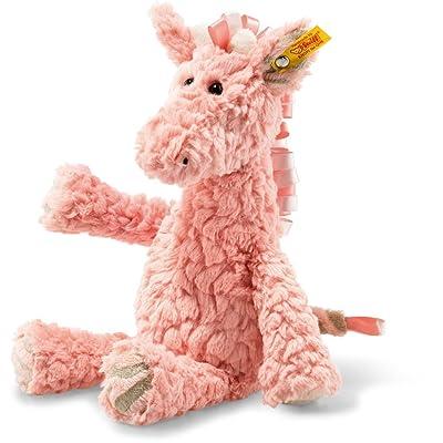 Steiff 068133 Giraffe, Rose, 30 cm: Toys & Games