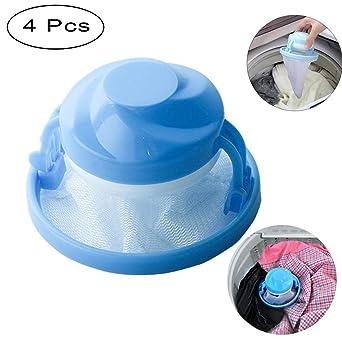 HK Reusable Washing Machine Hair Catcher Filter Net Bag Floating Lint Mesh Trap