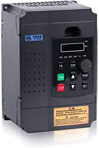 Variable Frequency Drive, MYSWEETY AC 220V/2.2KW 3HP 12A VFD Inverter Frequency Converter for Spindle Motor Speed Control (1 phase INPUT and 3 phase OUTPUT)