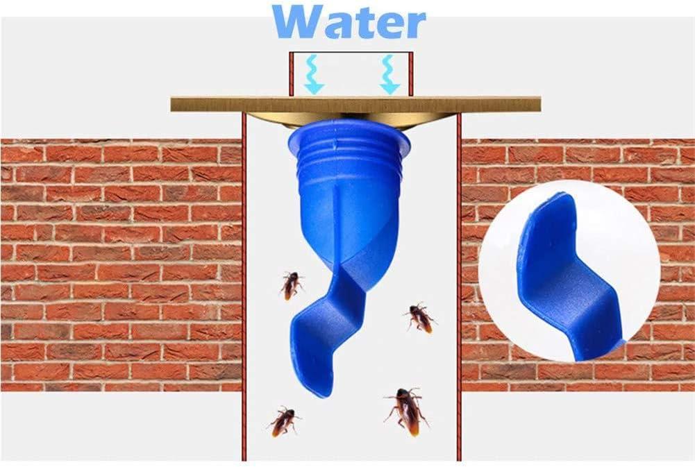anillo de sellado n/úcleo de silicona tubo de sellado desag/üe de piso Desodorante n/úcleo de drenaje de piso de alca dispositivo repelente de insectos y desag/üe lavadora de ba/ño herramienta