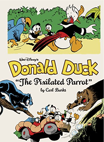 Walt Disney's Donald Duck:The Pixilated Parrot (The Complete Carl Barks Disney Library Vol. 9) (Vol. 9) (The Complete Carl Barks Disney Library)