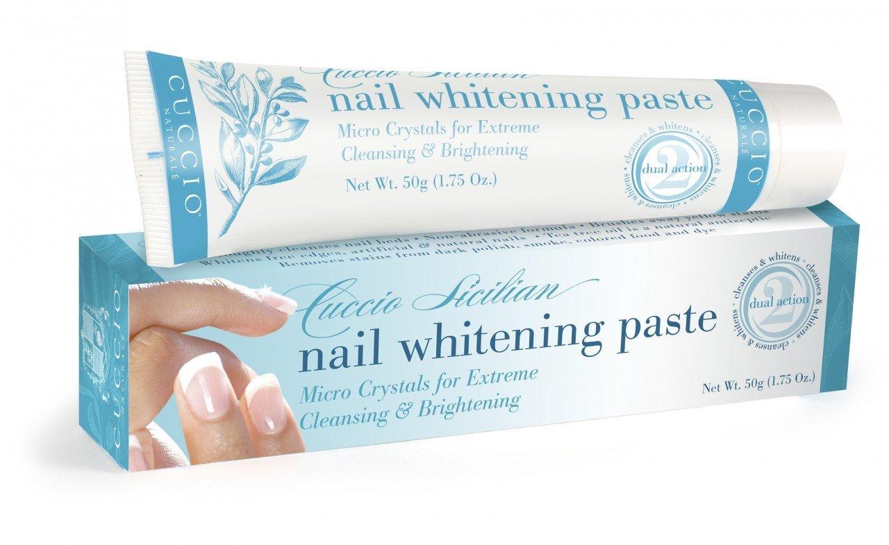 Pasta Cuccio natural, para blanqueamiento y limpieza extremas de uñas descoloridas 3086